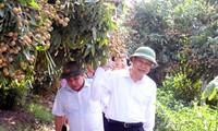 Phó Thủ tướng Vũ Văn Ninh kiểm tra việc thực hiện xây dựng nông thôn mới tại Hưng Yên