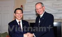 Thủ đô hai nước Việt Nam và Anh tăng cường hợp tác về tài chính