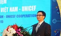 Lễ kỷ niệm 40 năm hợp tác Việt Nam- Unicef
