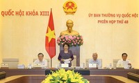 Phiên họp thứ 48 Ủy ban Thường vụ Quốc hội
