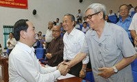 Chủ tịch nước Trần Đại Quang tiếp xúc cử tri Thành phố Hồ Chí Minh