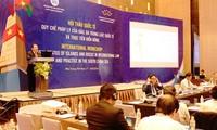 Các quốc gia cần tôn trọng phán quyết của Tòa trọng tài quốc tế