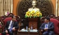 Tổng giám đốc Đài TNVN tiếp Đại sứ Cộng hòa Azerbaijan tại Việt Nam