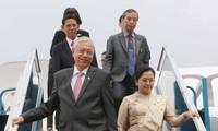 Tổng thống Cộng hòa Liên bang Myanmar và Phu nhân bắt đầu thăm cấp Nhà nước tới Việt Nam