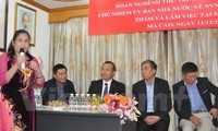 Chủ nhiệm Ủy ban Nhà nước về người Việt Nam ở nước ngoài gặp gỡ cộng đồng người Việt tại Macau
