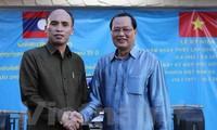 Giao lưu giữa hai Đại sứ quán Việt Nam và Lào tại Singapore