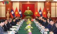 Tổng Bí thư, Chủ tịch nước Lào thăm hữu nghị chính thức Việt Nam