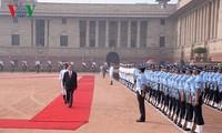 Lễ đón chính thức Chủ tịch nước thăm cấp Nhà nước Cộng hòa Ấn Độ