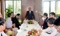Thủ tướng Nguyễn Xuân Phúc thăm ICISE tại Bình Định