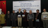 Lần đầu tiên, đào tạo chuyên sâu về tâm lý học đường tại Việt Nam