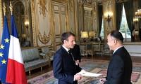 Tổng thống Pháp đánh giá cao vai trò ngày càng tăng của Việt Nam