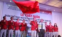 Asian Para Games 18: Đoàn thể thao người khuyết tật Việt Nam đến Indonesia