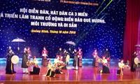 Hội diễn Đàn, hát dân ca ba miền