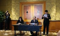 Triều Tiên họp báo lúc nửa đêm tại Hà Nội về thượng đỉnh Mỹ - Triều