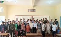 Khai giảng lớp bổ túc thí điểm cho người gốc Việt tại Campuchia