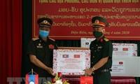 Quảng Ngãi hỗ trợ tỉnh Champasack (Lào) phòng, chống dịch COVID-19