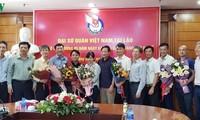 Đại sứ Việt Nam tại Lào chúc mừng các cơ quan báo chí