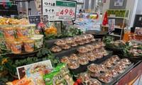 Vải tươi Việt Nam lần đầu lên kệ siêu thị ở Nhật Bản
