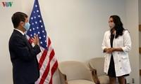 Hà Nội trao tặng thành phố New York (Mỹ) 2 tấn khẩu trang