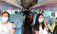 Sinh viên Campuchia vui mừng trở lại học tập tại Việt Nam