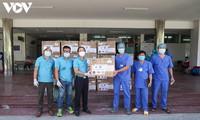 VOV cùng các tổ chức, cá nhân hảo tâm ở TP Hồ Chí Minh tiếp tục hỗ trợ các bệnh viện ở Đà Nẵng chống dịch Covid-19