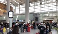 Máy bay chở hơn 340 công dân từ Mỹ về Việt Nam hạ cánh ở Nội Bài