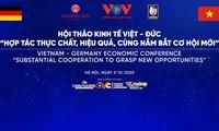 Kinh tế Việt - Đức: Hợp tác thực chất, hiệu quả, cùng nắm bắt cơ hội mới