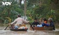 Điện thăm hỏi của Myanamar về lũ lụt ở miền Trung Việt Nam