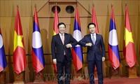 Việt Nam - Lào nhất trí triển khai tốt các chương trình hợp tác song phương