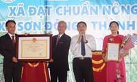 Sức sống mới ở xã Nông thôn mới Sơn Đông, tỉnh Bến Tre