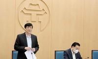 Bộ trưởng Bộ Y tế làm việc với Hà Nội về ứng phó dịch COVID -19