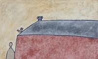 Lê Thiết Cương triển lãm tranh Về Bến lạ lấy cảm hứng từ thơ Đặng Đình Hưng