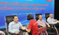 Gần 250 đơn vị máu thu được từ Ngày hội hiến máu tình nguyện của Bộ Công thương