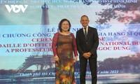 Chính phủ Pháp vinh danh Phó Giáo sư, Tiến sĩ Nguyễn Thị Ngọc Dung