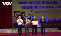 Hát Sli của người Nùng xã Xuân Dương trở thành Di sản phi vật thể Quốc gia