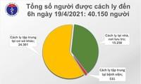 Sáng 19/4, thêm một ca mắc COVID-19 được cách ly sau nhập cảnh tại Đà Nẵng