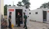 Quân đội triển khai trung tâm xét nghiệm dã chiến tại Bắc Giang