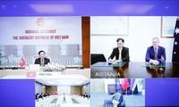 Chủ tịch Quốc hội Vương Đình Huệ hội đàm trực tuyến với Chủ tịch Hạ viện Australia Tony Smith