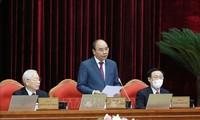 Ngày làm việc thứ nhất của Hội nghị lần thứ ba Ban Chấp hành Trung ương Đảng khóa XIII