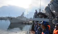 Hai Chiến hạm của Hải quân Việt Nam sang Nga dự Hội thao Quân sự quốc tế