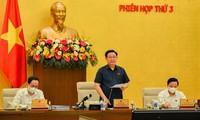 Ủy ban Thường vụ Quốc hội cho ý kiến về các nội dung trình kỳ họp thứ 2 Quốc hội khóa XV