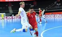 Báo chí Cộng hòa Czech ca ngợi sự kiên cường của đội tuyển futsal Việt Nam