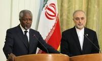 นาย โคฟี่ อันนันแสวงหาความช่วยเหลือของอิหร่านในการยุติความรุนแรงในซีเรีย