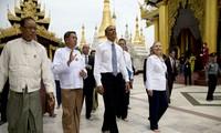 สหรัฐพร้อมที่จะส่งเสริมความสัมพันธ์ทางทหารกับพม่า