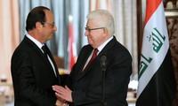 การประชุมปารีสให้คำมั่นที่จะสนับสนุนอิรักในการต่อต้านกลุ่มไอเอส