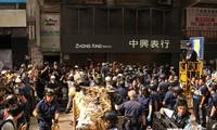 เกิดการปะทะอีกครั้งที่ ฮ่องกง ประเทศจีน