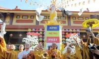 ประธานแนวร่วมปิตุภูมิเวียดนามมีสาส์นอวยพรในโอกาสวันวิสาขบูชาปี 2016