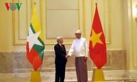 เวียดนาม-เมียนมาร์เห็นพ้องสถาปนาความสัมพันธ์หุ้นส่วนร่วมมือในทุกด้าน