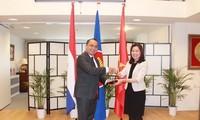 เอกอัครราชทูตเวียดนามประจำประเทศเนเธอร์แลนด์ปฏิบัติหน้าที่ประธานหมุนเวียนอาเซียน ณ กรุงเฮก