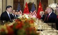 การเจรจาระหว่างจีนกับสหรัฐมีความคืบหน้าต่างๆ